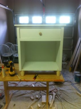 Custom Made Nightstand, Bedside Tables