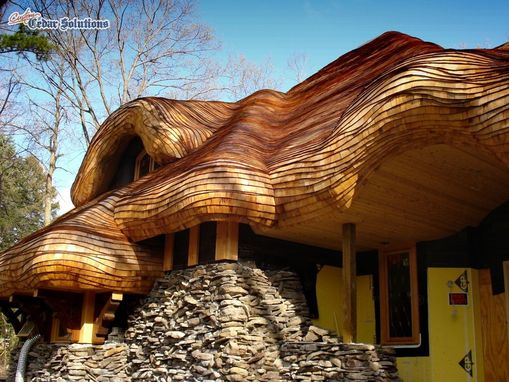 Custom Made Storybook Home Roof New Construction By
