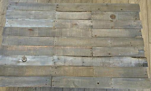 Custom Made Rustic Reclaimed Wood Coffee Table