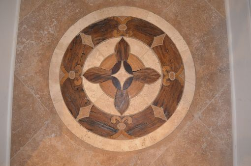 Custom Made Master Suite Floor Medallion