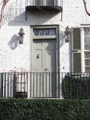 Custom Made Historic Reproduction Entry Doors