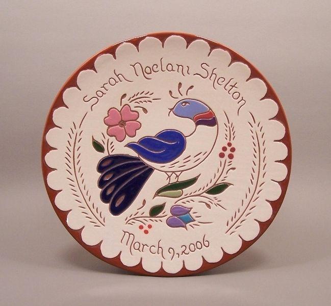 custom 5 personalized pennsylvania birth plate by