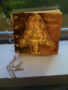 Custom Made Little Ornament Book