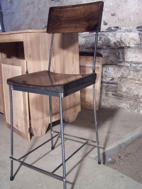 Buy Hand Crafted Urban Elegance Scooped Seat Rebar And