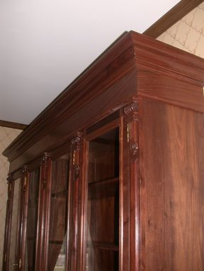 Custom Made Walnut Cabinet