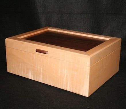 Custom Made Jewelry Boxes Made From Wood