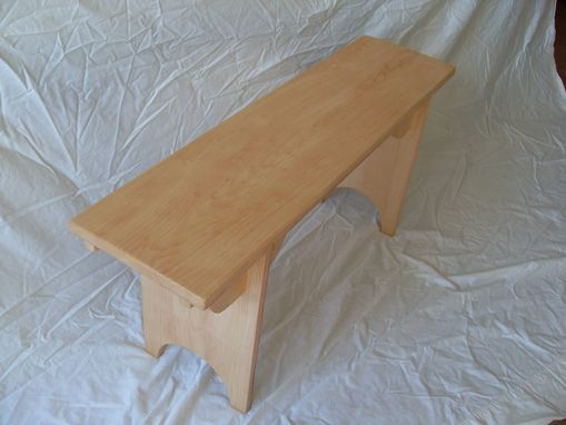 Custom Made Shaker-Style Hancock Bench