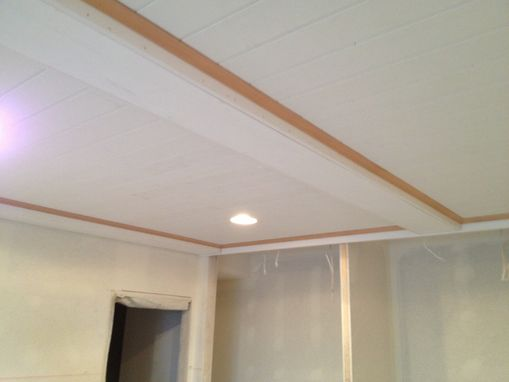 Custom Made Paneled Ceiling