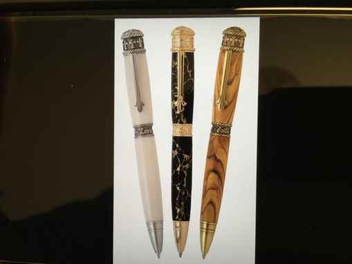 Custom Made Hand Crafted Faith, Hope, & Love Pen
