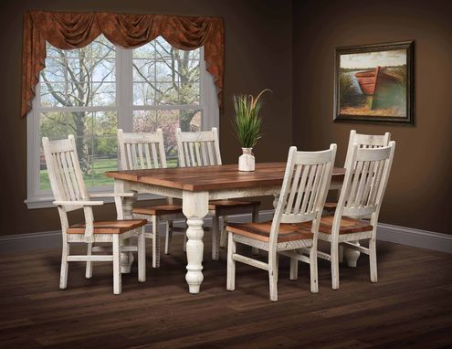 Custom Made Farmhouse Dining Set