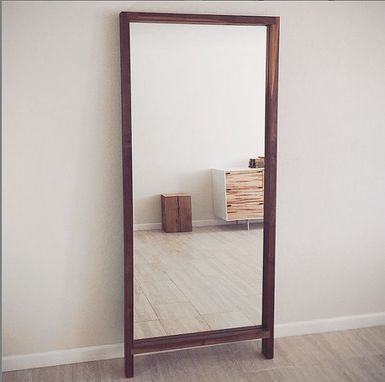 Custom Made Modern Floor Mirror