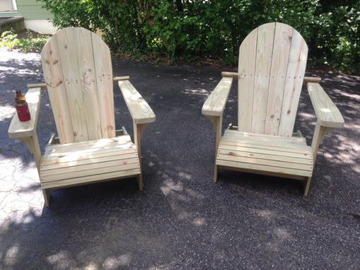 Custom Made Oversized Adirondack Chair