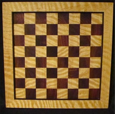 Custom Made Checker / Chess Board