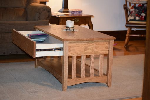 Custom Made Craftsman Inspired Coffee Table