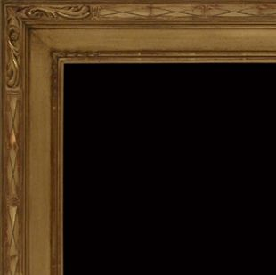 Custom Made 20th Century Hassam Style Carved Frame