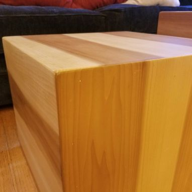 Custom Made Coffee Table Or End Table Cubes