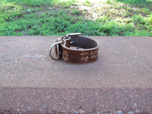 Custom Made Leather Braclet