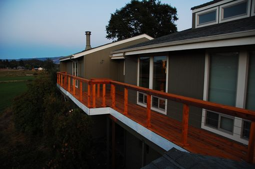 Custom Made Second Story Deck
