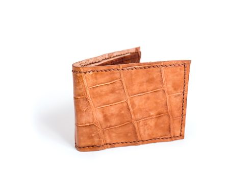 Custom Made Crocodile Wallet