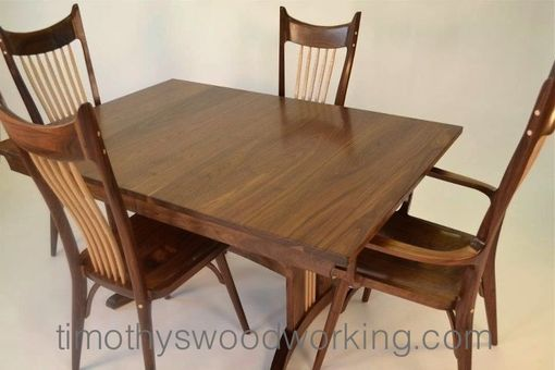 Custom Made Dining Set: Urban Organic Style