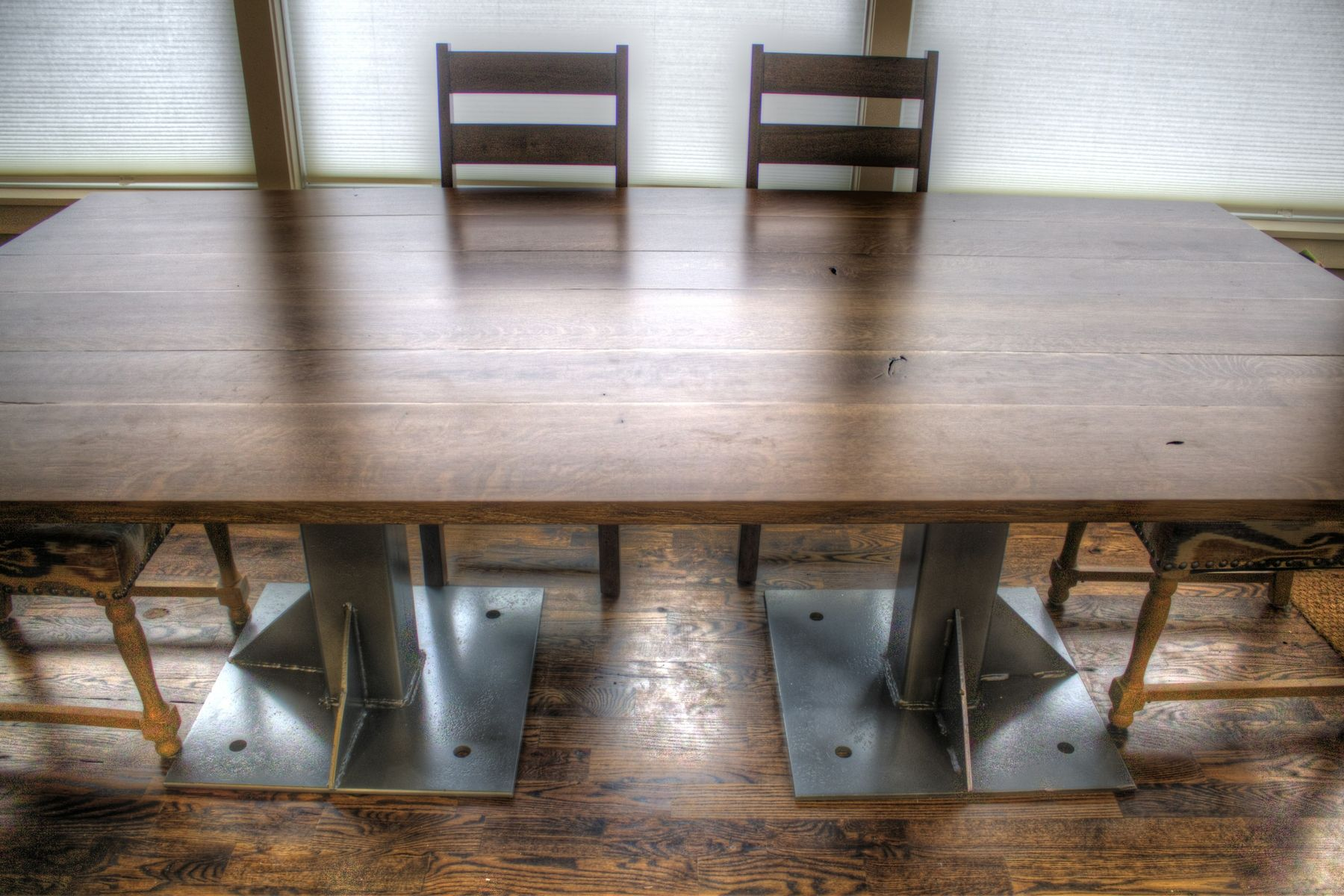 Industrial dining table - Custom Made Industrial Dining Table Or Conference Table