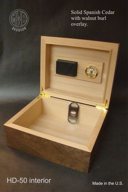 Custom Made Custom Inlaid Humidor Handcrafted In The U.S. Free Shipping And Engraving.