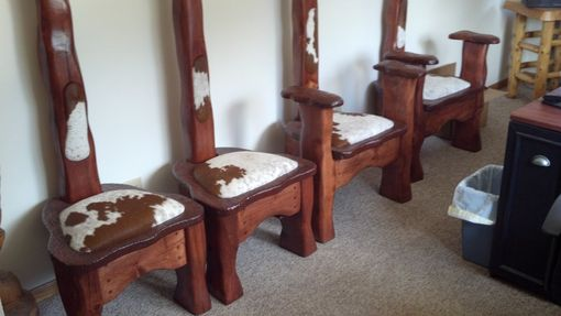 Custom Made Steer Head Chairs