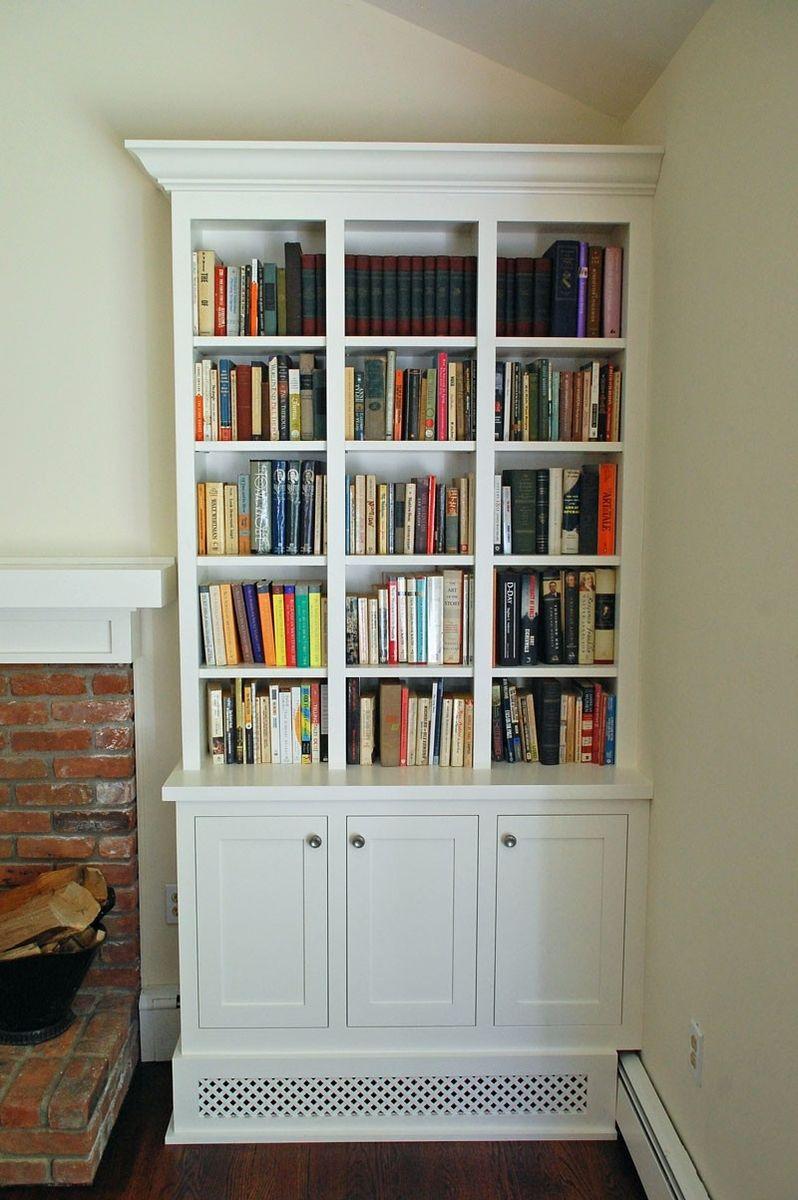 Living Room Bookcase Handmade Shaker Style Living Room Bookcases By John Samuel Custom