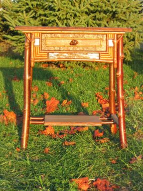 Custom Made Adirondack Nightstand