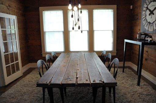 Custom Made Barn Floor Table