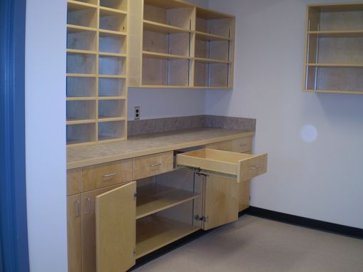 Custom Made Office Millwork/Cabinets