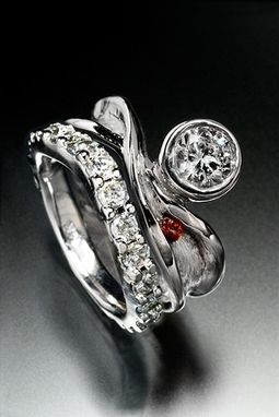 Custom Made Unique Engagment Ring