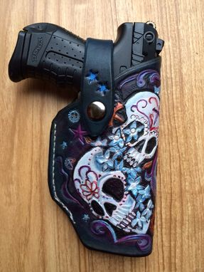 Custom Made P-22 Walther Ladies Leather Holster
