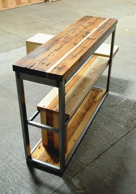 "Custom Made ""Slip"" Console Table"