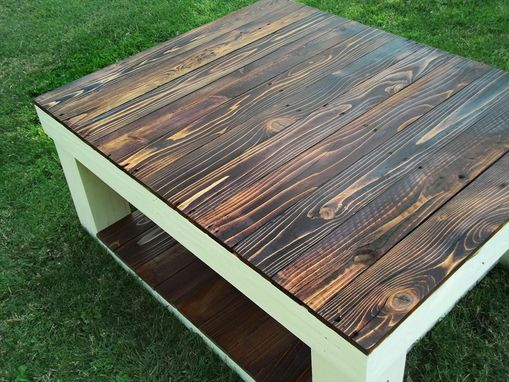 Custom Made Reclaimed Wood Farmhouse Coffee Table