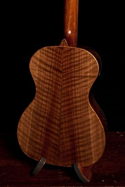 Custom Made Curly Walnut Baritone Ukulele