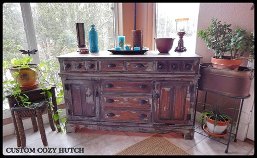 Custom Made Restored Vintage Hutch