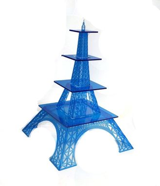 Custom Made Acrylic Eiffel Tower Cake Stand