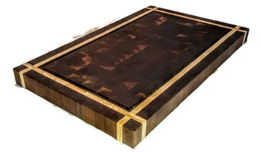Custom Made End Grain Butcher Block
