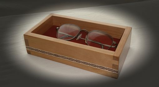 Custom Made Cherry Tray With Custom Banding