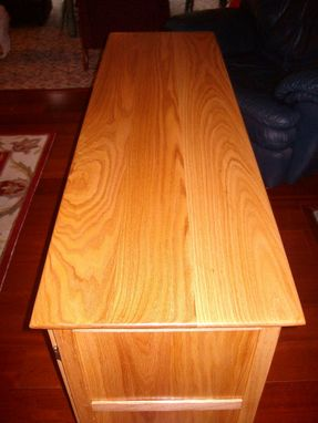 Custom Made Red Oak Kitchen Sideboard