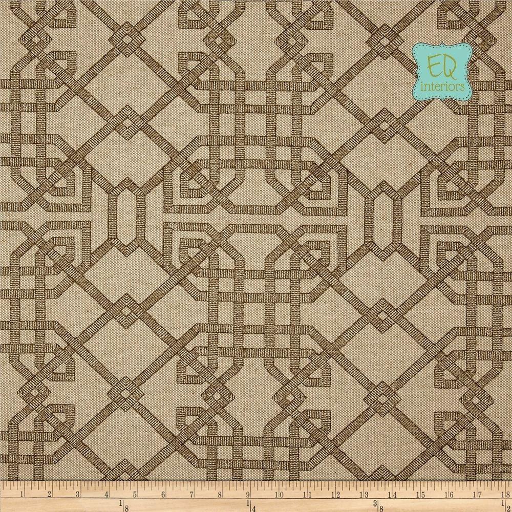 Designer curtain panels - Custom Made Custom Designer Curtain Panels Lacefield Arbor Trellis Fretwork Cedar Tan Brown 96 L X