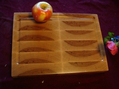 Custom Made Hickory End Grain Chopping Board, Butcher Block, Island