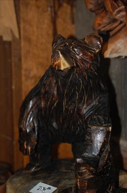 Custom Made Bear Sculpture