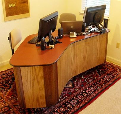 "Custom Made Desk: ""Mid-Century Stlye"""