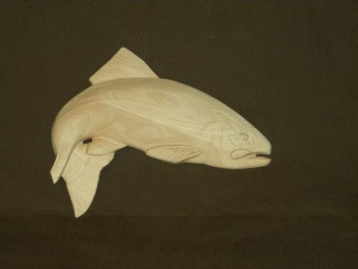 Custom Made 3d Relief Carved Trout