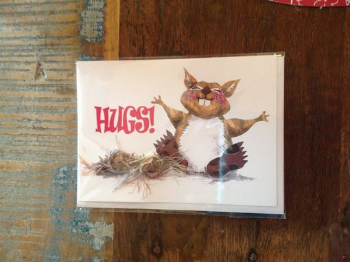 Custom Made Squirrel Greeting Cards