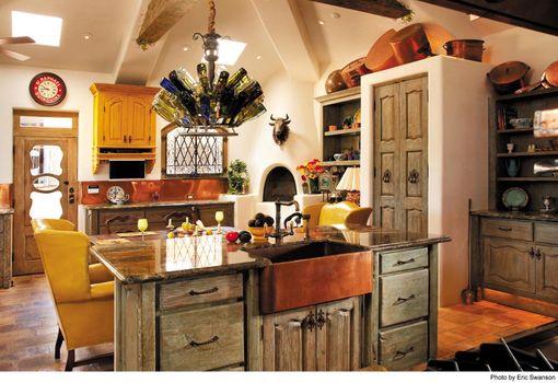 Handmade Custom Kitchen Cabinets By La Puerta Originals