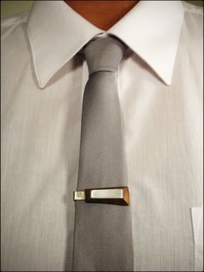 Custom Made (Tie Clip - Wide) Wearable Accessories