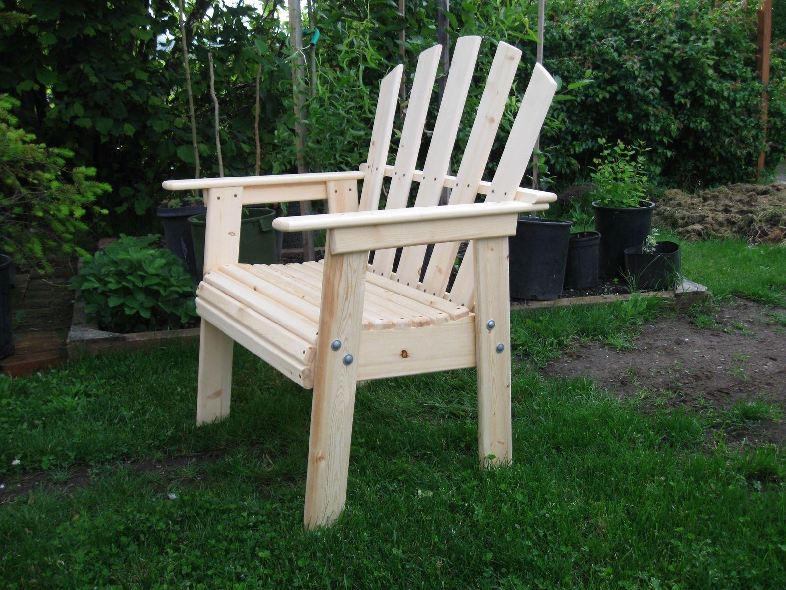 Custom Adirondack Style Deck Chair by Sam s Workshop